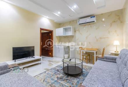 1 Bedroom Flat for Rent in Jeddah, Western Region - Furnished apartments   Studio system for rent in Al Salamah, North of Jeddah