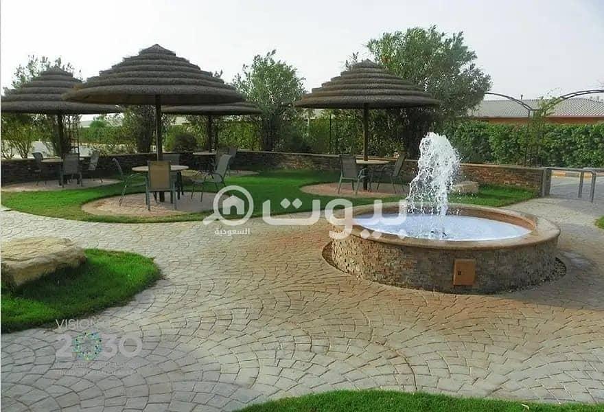 شاليه مفروش للإيجار في النظيم، شرق الرياض