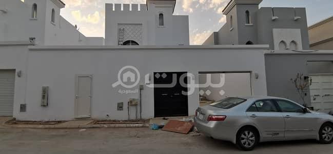 4 Bedroom Villa for Sale in Riyadh, Riyadh Region - New villa with hall staircase for sale in Al Yasmin, North Riyadh