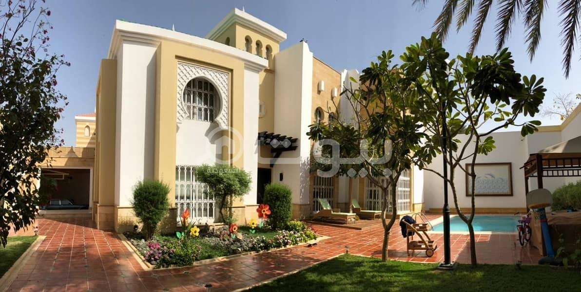 Luxury Villa for sale in Umm Al Hamam Al Gharbi, West of Riyadh