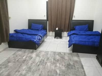 شقة 1 غرفة نوم للايجار في جدة، المنطقة الغربية - شقق مفروشة للإيجار الشهري في حي الربوة شارع حراء، شمال جدة