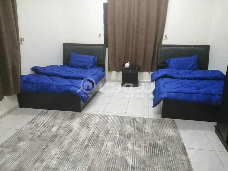 Furnished apartments for monthly rent in Al Rabwa, Hira Street North of Jeddah