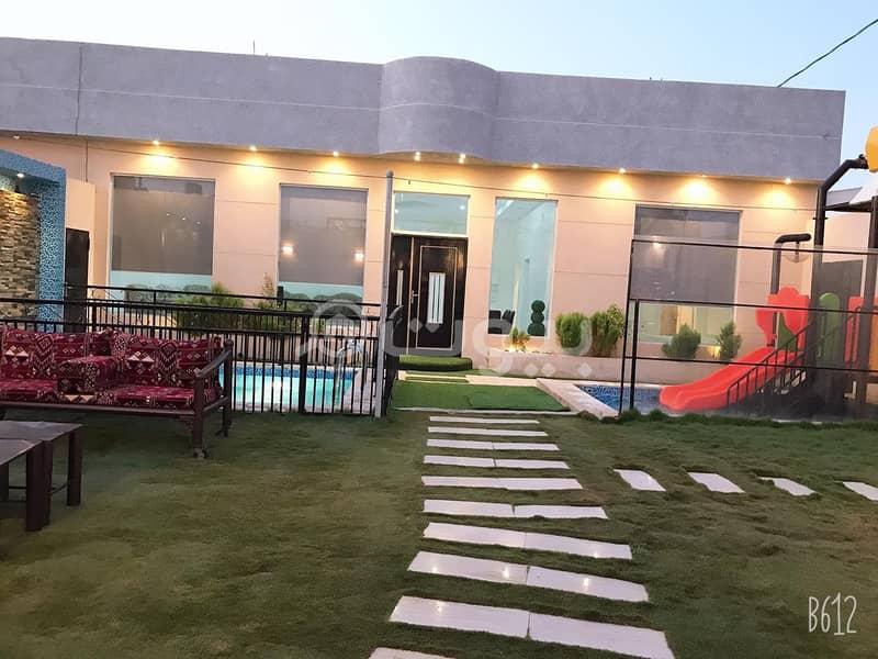 شاليه للإيجار في الرمال، شرق الرياض