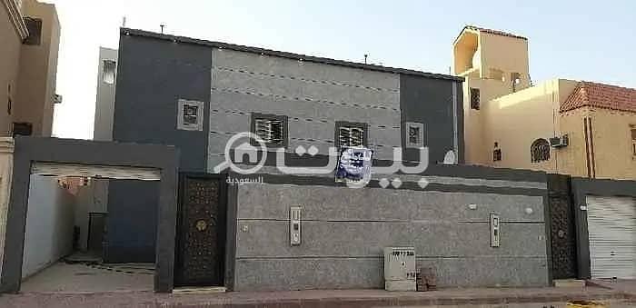 For sale, villa staircase hall in the Al Dar Al Baida district, south of Riyadh