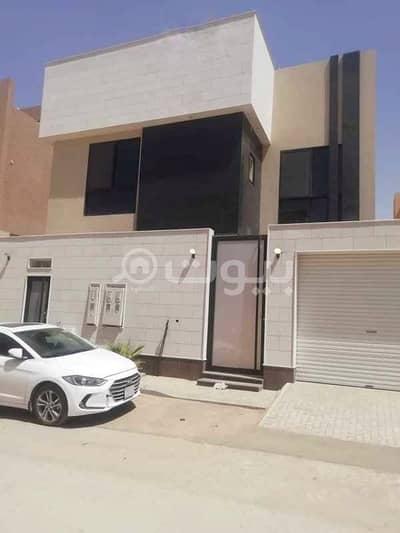 6 Bedroom Villa for Rent in Riyadh, Riyadh Region - villa stairway in hall luxury for rent in Al Narjis, North Riyadh