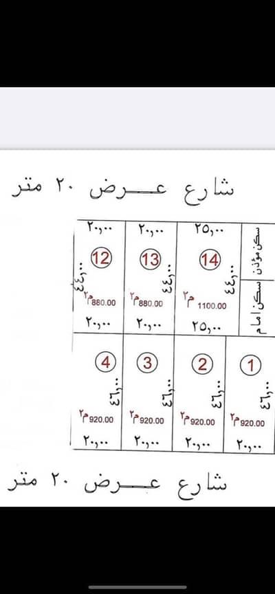 ارض سكنية  للبيع في الرياض، منطقة الرياض - قطع أراضي للبيع في العجلان الملقا، شمال الرياض
