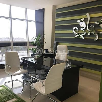 Fully furnished luxury offices for rent in Al Olaya District, north of Riyadh