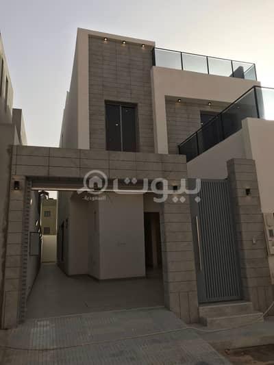 4 Bedroom Villa for Sale in Riyadh, Riyadh Region - Internal Staircase Villa And Two Apartments For Sale In Al Arid, North Riyadh