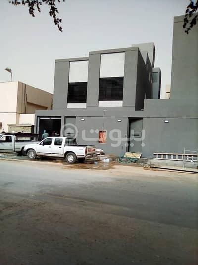 4 Bedroom Villa for Sale in Riyadh, Riyadh Region - Internal Staircase Villa And Apartment For Sale In Al Dar Al Baida, South Riyadh