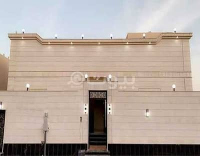 6 Bedroom Villa for Rent in Jeddah, Western Region - New Villa with park for rent in Taiba District, north of Jeddah | 460 sqm