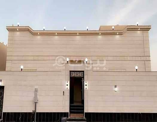 New Villa with park for rent in Taiba District, north of Jeddah | 460 sqm