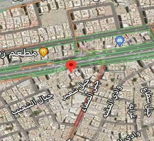أرض سكنية/تجارية للبيع بحي العزيزية، شمال جدة