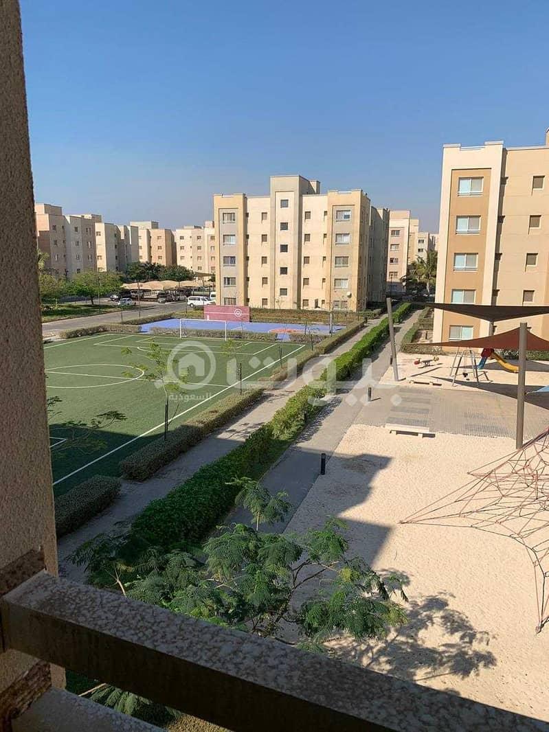 شقة للبيع في حي الشروق في مدينة الملك عبدالله الاقتصادية في شمال جدة
