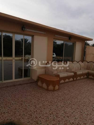 Farm for Sale in Al Kharj, Riyadh Region - Farm | Electronic deed for sale in Ad Dubaiyah, Al Kharj