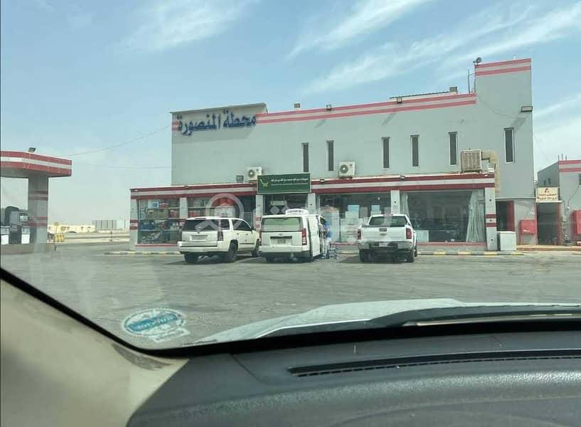 للبيع محطة في بدر، جنوب الرياض