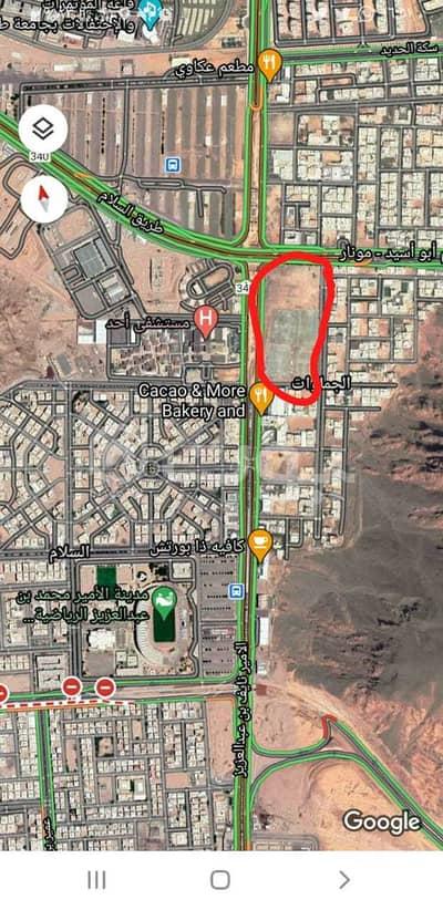 ارض تجارية  للبيع في المدينة المنورة، منطقة المدينة - قطعتين أرض للبيع في حي السلام، المدينة المنورة