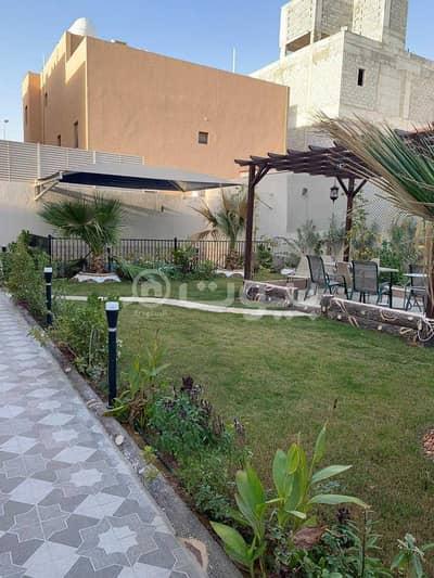5 Bedroom Villa for Sale in Riyadh, Riyadh Region - Villa interior stair and istiraha for sale in Al Yasmin, North Riyadh