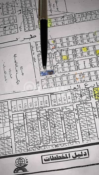 ارض تجارية  للبيع في الرياض، منطقة الرياض - للبيع أرض رأس بلك شمال نادي الشباب في حي الصحافة، شمال الرياض