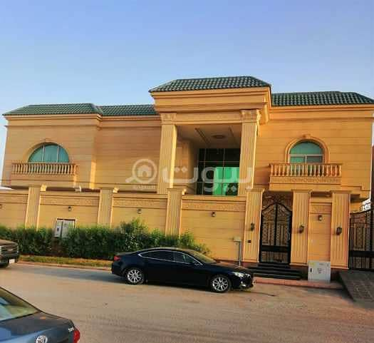 قصر مؤثث فاخر للبيع بتلال الموسى، شمال الرياض