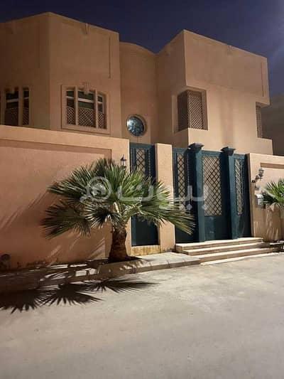 فیلا 5 غرف نوم للبيع في الرياض، منطقة الرياض - فيلا زاوية للبيع في حي الواحة، شمال الرياض