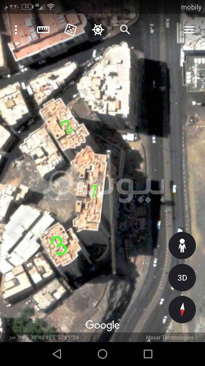 برج مميز بجوار الحرم للبيع - مكة