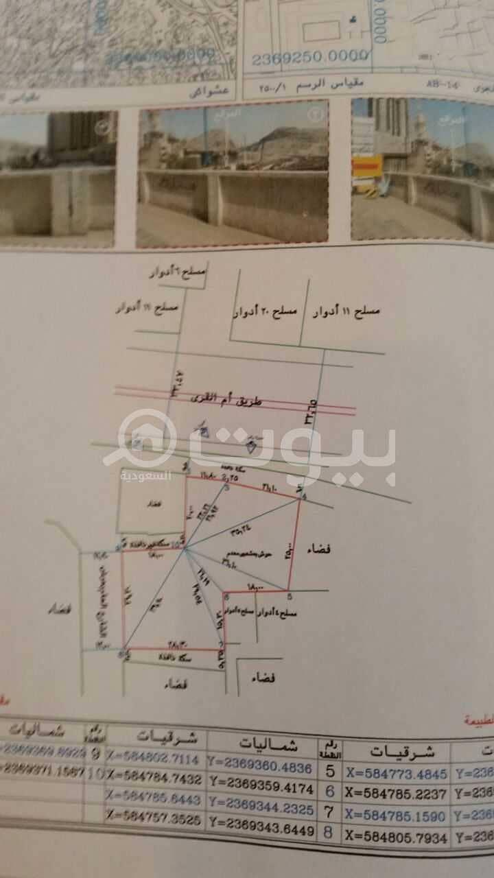 أرض تجارية للبيع بالطندباوي، مكة المكرمة