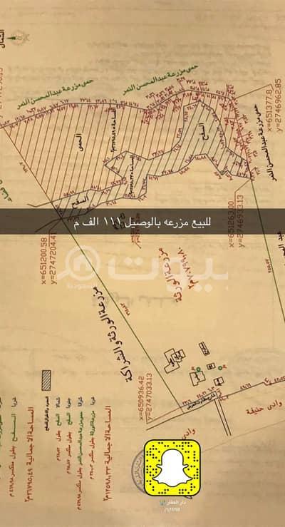 Residential Land for Sale in Al Diriyah, Riyadh Region - Farm for sale in Al Waseel Al Al Ammariyah Al Diriyah