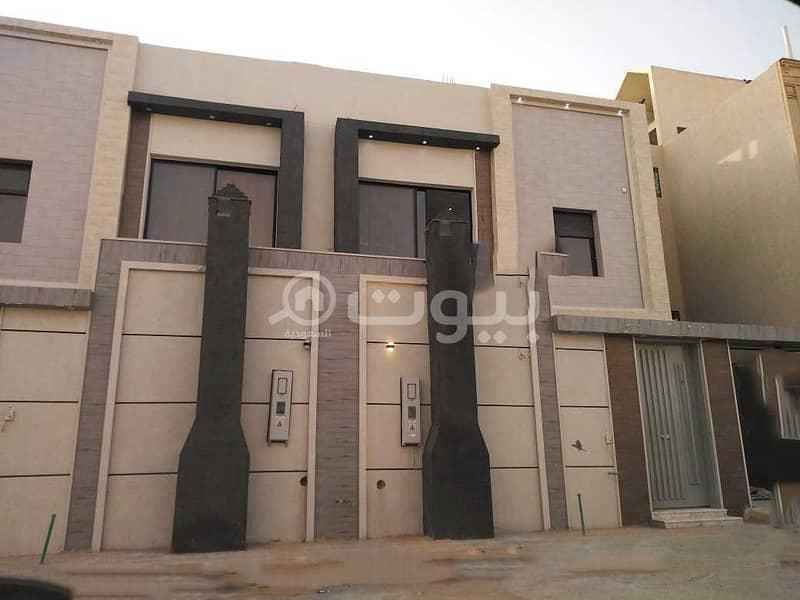 Duplex villa with a staircase hall for sale in Dhahrat Laban, West Riyadh