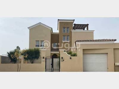 فیلا 6 غرف نوم للبيع في مدينة الملك عبدالله الاقتصادية، المنطقة الغربية - للبيع فيلا 460م2 في التالة جاردنز، مدينة الملك عبدالله الاقتصادية