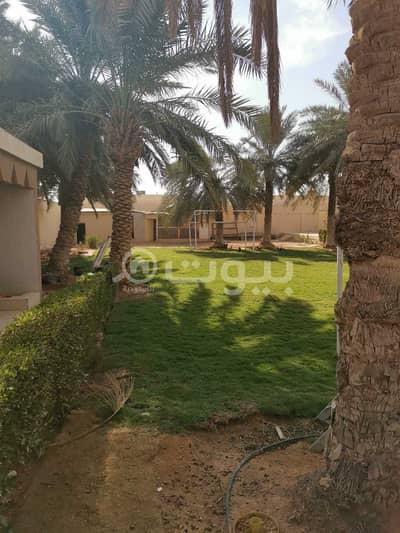 استراحة  للايجار في الرياض، منطقة الرياض - استراحة مع مسبح للإيجار بحي الرمال، شرق بالرياض