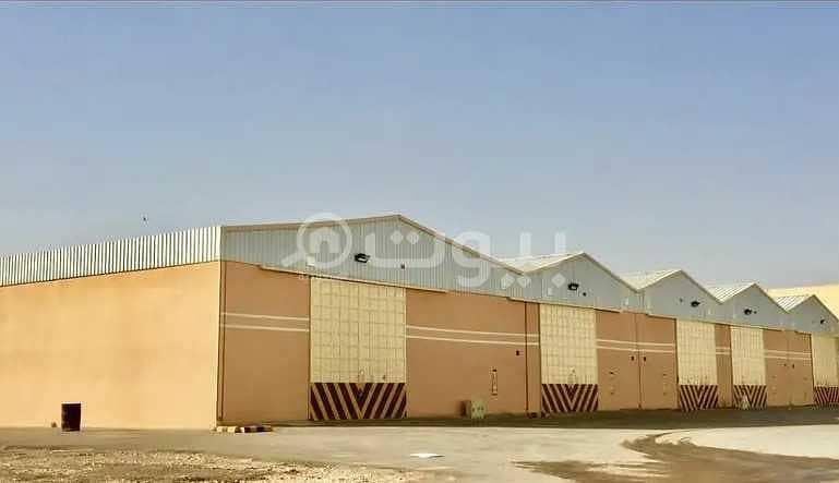 مستودع بمساحة 470م2 للإيجار بالسلي، جنوب الرياض