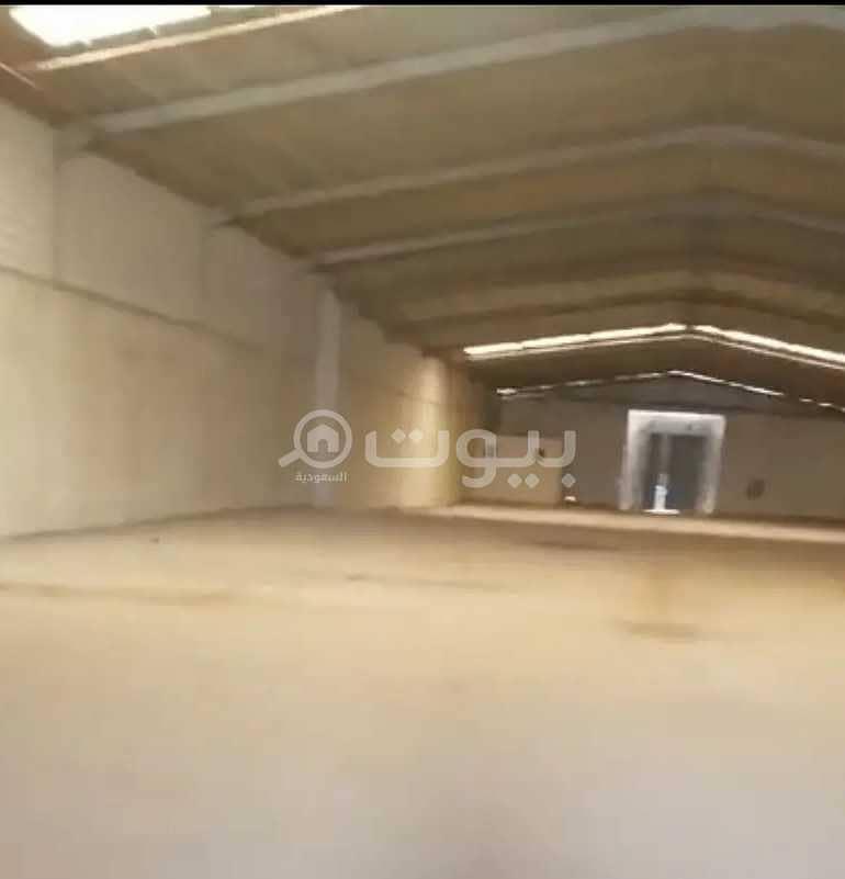 مستودع للإيجار في السلي، جنوب الرياض