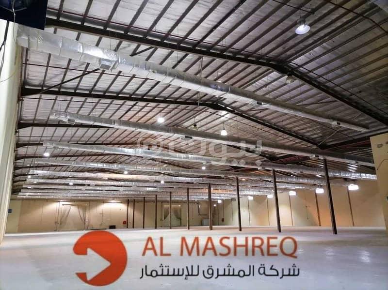 مستودعات للإيجار في السلي، جنوب الرياض