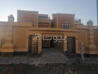 فیلا 4 غرف نوم للبيع في خميس مشيط، منطقة عسير - فلل دورين وملحق وسطح للبيع بمخطط 3 خميس مشيط