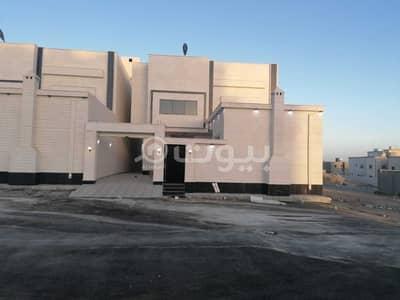 فیلا 5 غرف نوم للبيع في خميس مشيط، منطقة عسير - فلل دورين وملحق وسطح للبيع في مخطط 6 خميس مشيط| 375م2