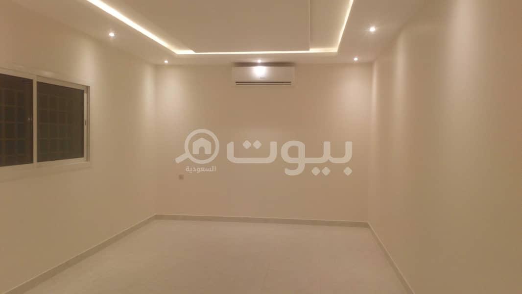 For rent an internal staircase villa in Al Arid, North Riyadh