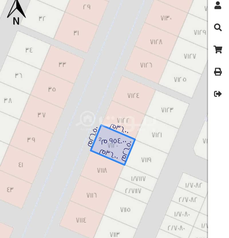 Commercial Land For Sale In Namar, West Riyadh