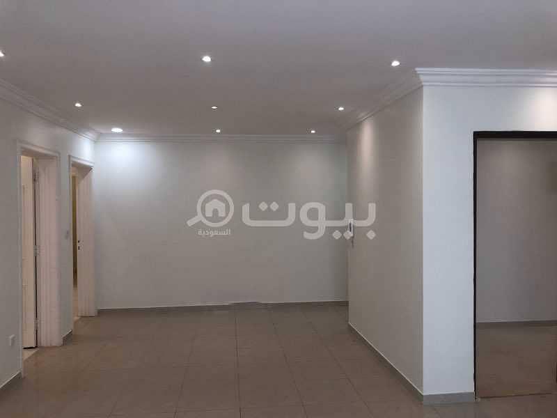 دور علوي واسع للإيجار في الروضة، شرق الرياض