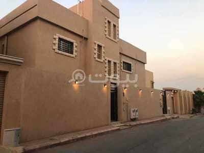 فیلا 7 غرف نوم للايجار في الرياض، منطقة الرياض - فيلا بمواصفات فاخرة مع سطح واسع وملحق خارجي للإيجار بحي الروضة، شرق الرياض