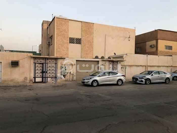 دور علوي للإيجار بحي الروضة، شرق الرياض