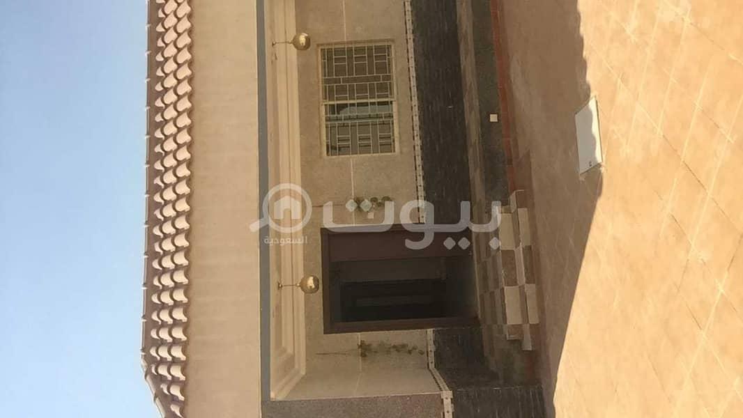 Villa for rent in Al Sulimaniyah, north of Riyadh   400 SQM
