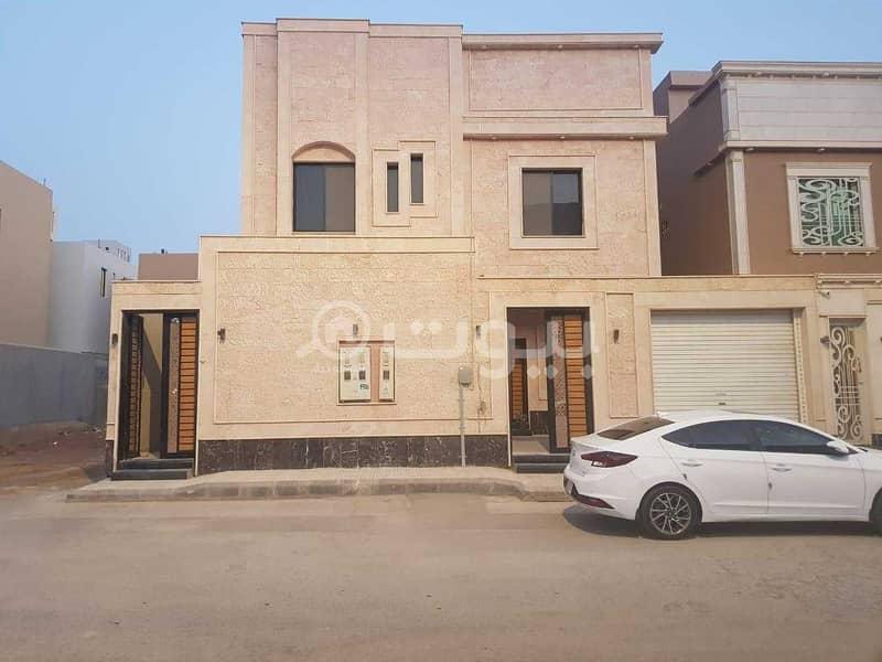 فيلا مع شقتين مؤجرتين للبيع في حي العارض، شمال الرياض