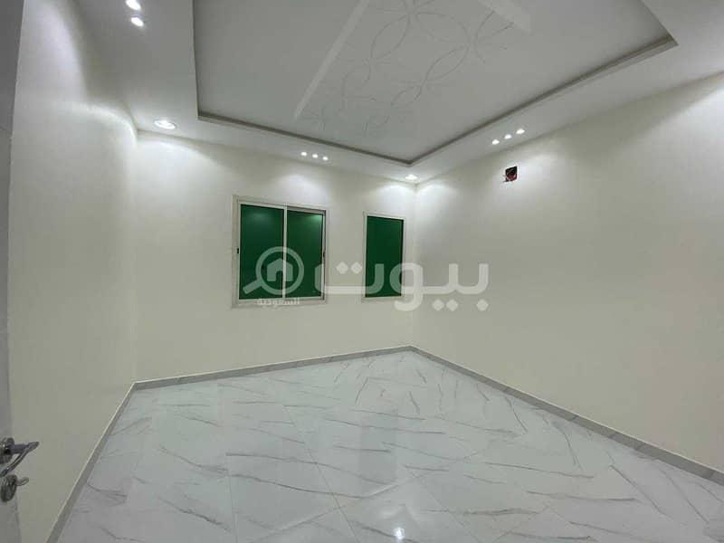 Internal staircase villa for rent in Al Rimal, east of Riyadh