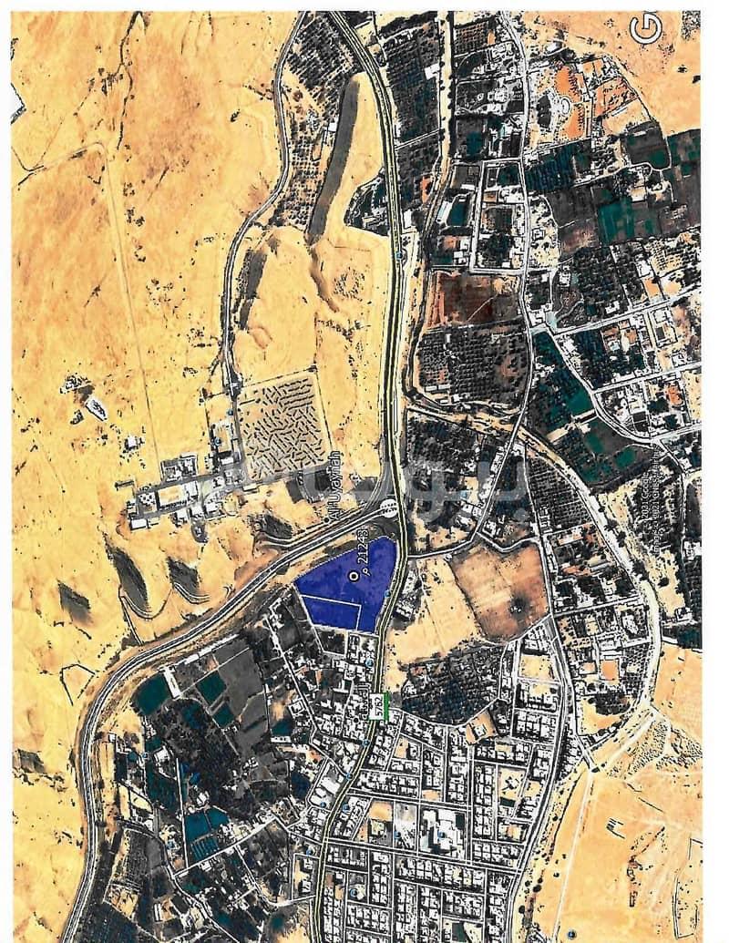 أرض تجارية للبيع في العيينة، الدرعية