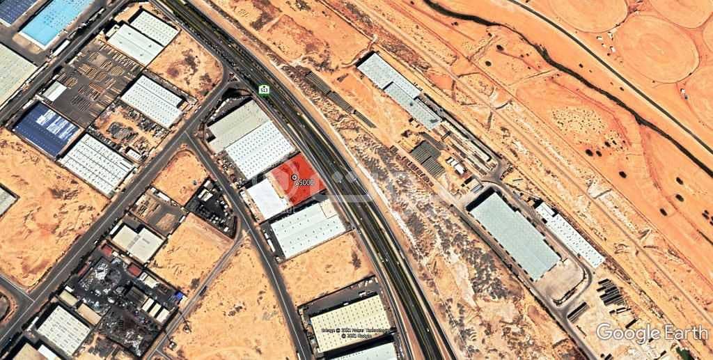 أرض تجارية للبيع في المدينة الصناعية الجديدة، جنوب الرياض