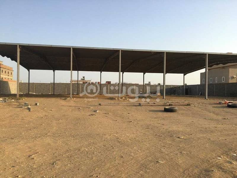أرض تجارية للإيجار والإستثمار بمخطط الفيروز شمال جدة