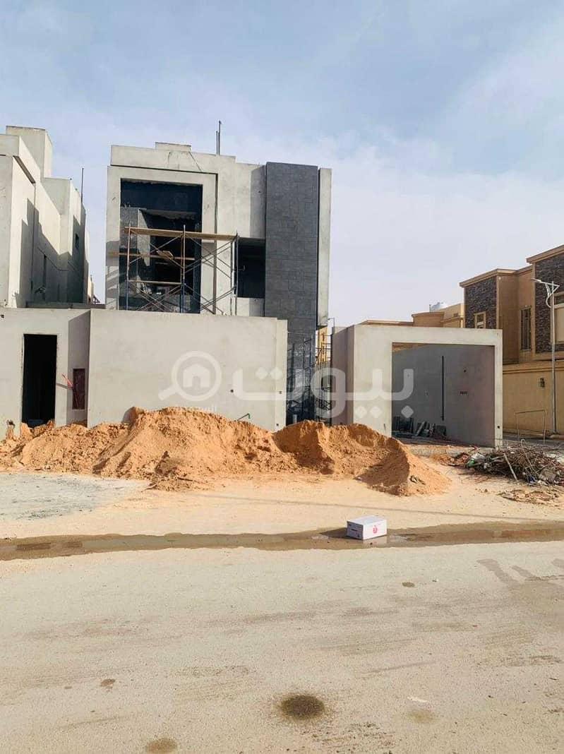 Corner villa | 390 SQM for sale in Al Yasmin, North Riyadh