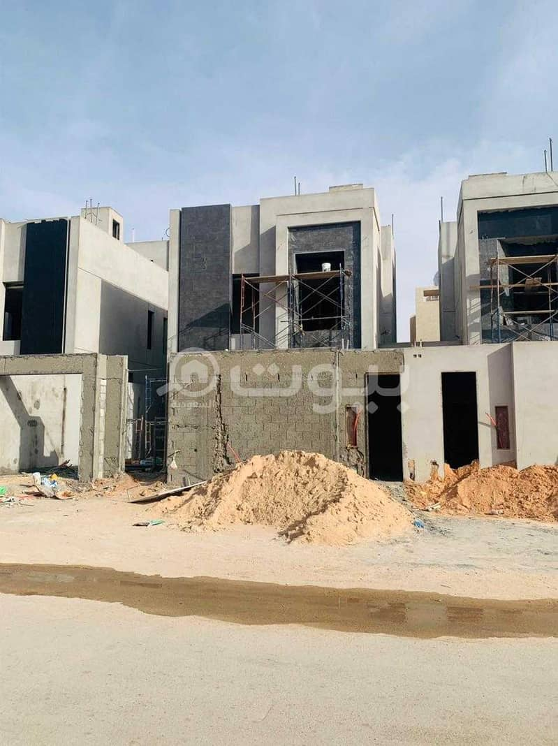 Villa   with comprehensive guarantees for sale in Al Yasmin, North of Riyadh