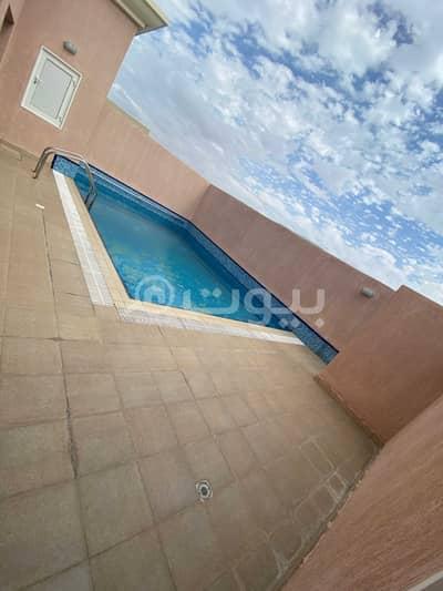 3 Bedroom Villa for Rent in Jeddah, Western Region - Villa with pool for rent in Al Hamraa, Central Riyadh