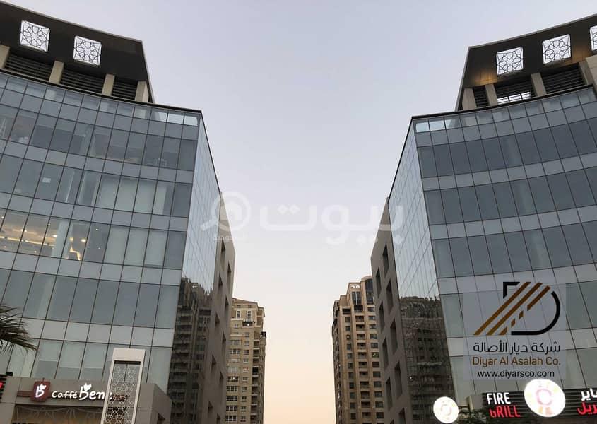 مكتب في منطقة حيوية في إعمار سكوير للبيع - جدة